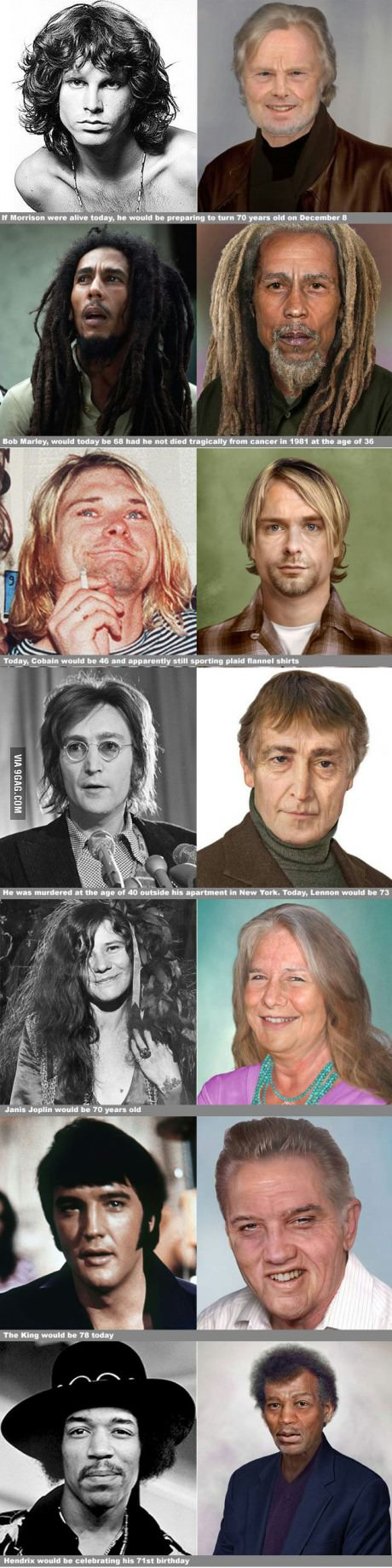 Rock legends - If they were still alive